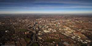 Leeds from the air