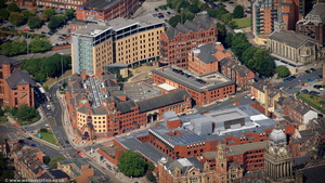 Leeds magistrates court  from the air