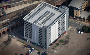 Q-Park Sovereign Square Leeds from the air