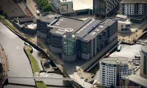 Royal Armouries Museum Leeds   from the air