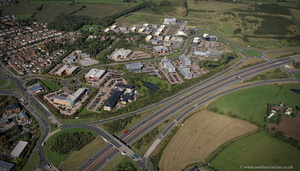 Thorpe Park Business Park, Leeds from the air