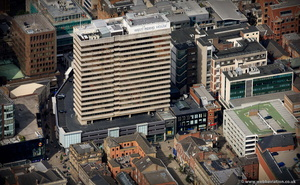 West Riding House Leeds from the air
