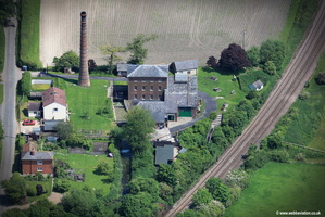 Crofton Crofton Pumping Station & Beam Engines aerial photograph