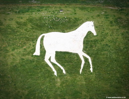 Devizes White Horse aerial photograph