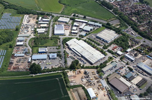 Hopton Park Industrial Estate aerial photograph