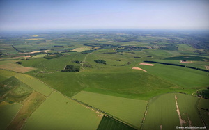 Fyfield Down  aerial photograph