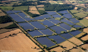 Solar Farm at Redstocks near Melksham aerial photograph