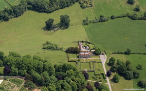 Hatch House  Salisbury Wiltshire   aerial photograph