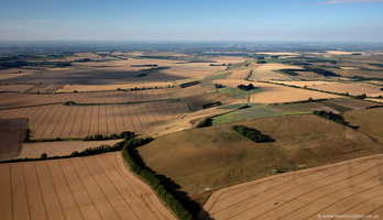 The Ridgeway  at  Monkton Down Wiltshire  aerial photograph