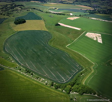 Wansdyke Wiltshire aerial photograph