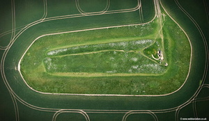 West Kennet Long Barrow  aerial photograph