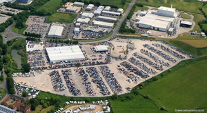 Northacre Business Park, Stephenson Rd, Westbury  aerial photograph