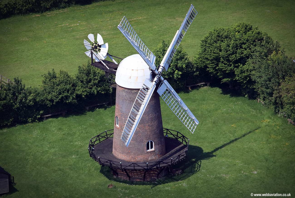 Wilton Windmill Wiltshire  aerial photograph