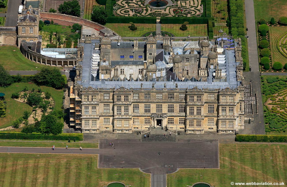 Longleat House  Wiltshire aerial photo