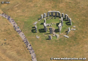 Stonehenge  aerial photo