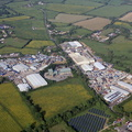 Chelworth Industrial Estate UK aerial photograph