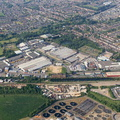 Cheney Manor Industrial Estate Swindon  aerial photograph