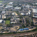 Elgin Industrial Estate  Swindon aerial photograph