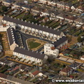 The Triangle housing  - Haboakus development in  Swindon aerial photo