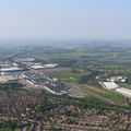 Honda Car Factory Swindon UK aerial photograph