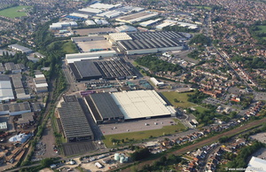 Mini Factory  Swindon aerial photograph