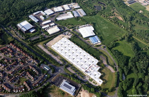 Rivermead Industrial Estate Swindon  aerial photograph