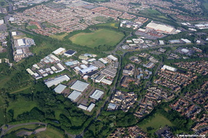 Westmead Industrial Estate Swindon  UK aerial photograph