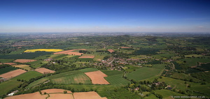 Belbroughton Worcestershire  aerial photograph