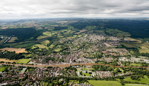 Bewdley from the air