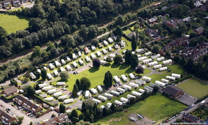 Butt Town Caravan Park Bewdley  from the air