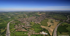 Catshill Bromsgrove   from the air