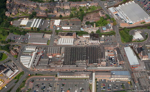 Kidderminster Worcestershire aerial photograph