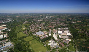 Washford Industrial Estate, Heming Road, Redditch Worcestershire  aerial photograph