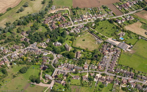 Sedgeberrow Worcestershire  from the air