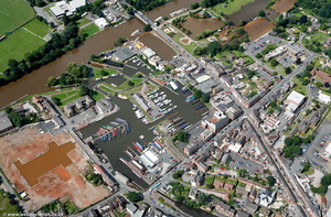 Stourport-on-Severn from the air