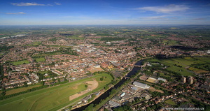 Worcester aerial photographs