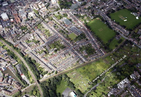 Worcester  Worcestershire aerial photograph