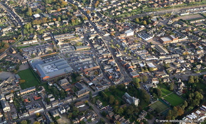 Biggleswade from the air