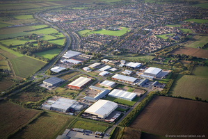 Stratton Business Park, Biggleswade from the air