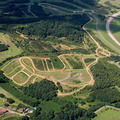 off-road testing facilities at Millbrook Proving Ground  from the air