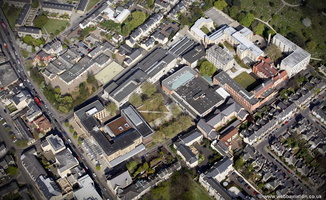 Anglia Ruskin University Cambridge from the air