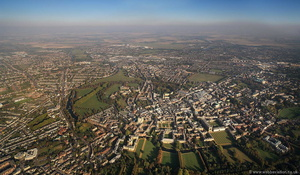 Cambridge England UKfrom the air