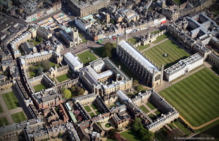 Cambridge University from the air
