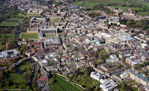 Cambridge from the air
