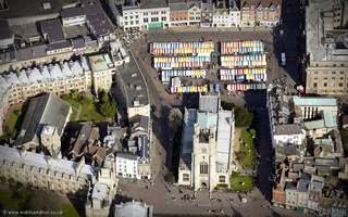 St Mary the Great's Church  from the air