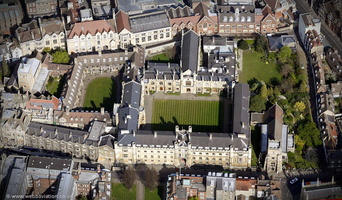 Corpus Christi College, Cambridge from the air