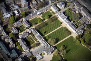 Downing College, Cambridge Cambridge from the air