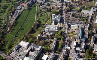 Fitzwilliam Museum  Cambridge from the air