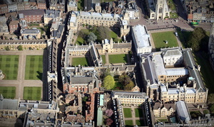 Gonville & Caius College, University of Cambridge  from the air