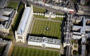 King's College, Cambridge from the air